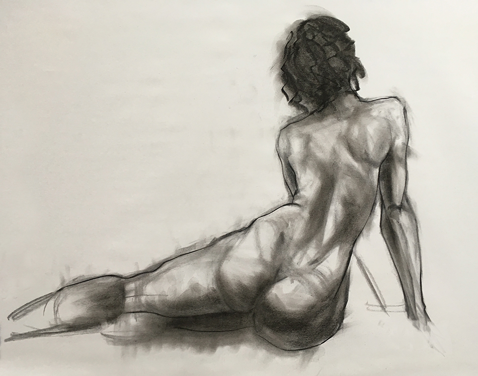 Figure drawing and anatomy class – Westminster Quaker Meeting House